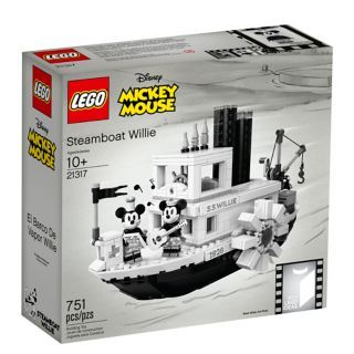 LEGO®, Ideas, Disney, Steamboat Willie, 21317