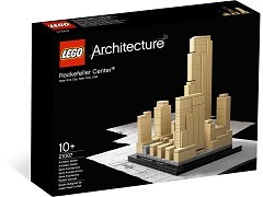 LEGO®, Architecture, Rockefeller Center, 21007