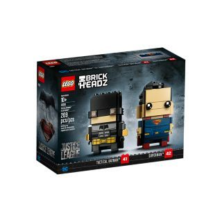 LEGO®, BrickHeadz™, DC Super Heroes, Tactical Batman™ & Superman™, 41610