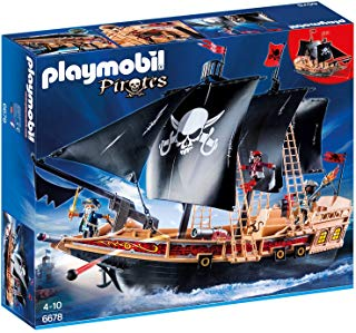 PLAYMOBIL®, Pirates, Piraten-Kampfschiff 6678