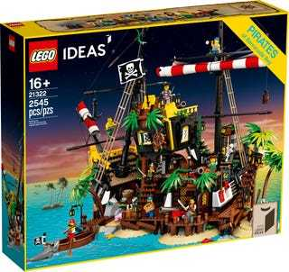 LEGO®, Ideas, Piraten der Barracuda-Bucht 21322