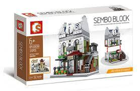 Sembo, 6300 Mini Modular Building Pariser Restaurant